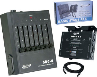 American DJ Basic Stage Pak Light Pack