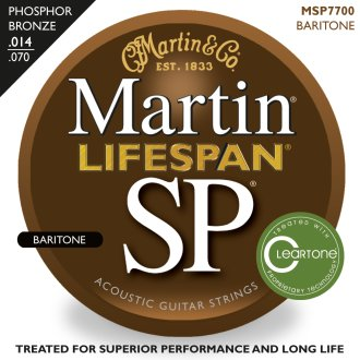 Martin SP Lifespan Baritone Strings