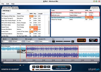 Stanton Scratch DJ Academy MIX Software