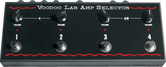 Voodoo Lab Amp Selector 4-Way A/B Box