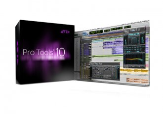 Avid Pro Tools 10 Production Software