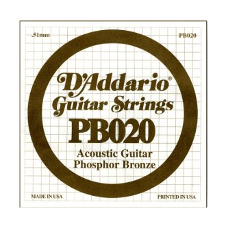 D'Addario Phosphor Bronze Acoustic
