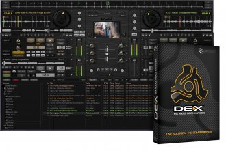 PCDJ DEX Pro DJ Software, Mac/PC