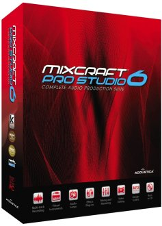 Acoustica Mixcraft Pro Studio 6