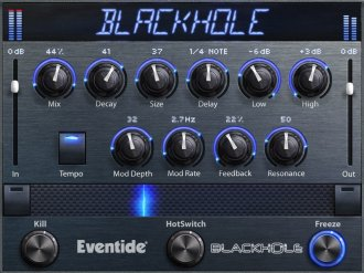 Eventide Blackhole Native Reverb Plug In