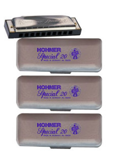 Hohner 560 Special 20 Harmonica Set