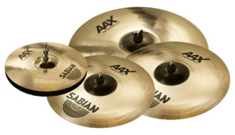 Sabian AAX Series Cymbal Package