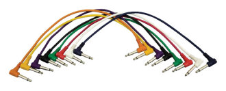 Hot Wires 1/4 to 1/4 Inch Patch Cables