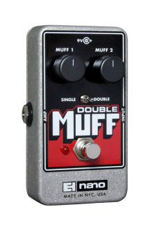 EHX Double Muff Distortion Pedal