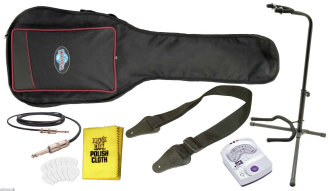 Electric Guitarist's Accessory Package