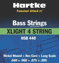 Hartke HSB440 Bass Strings (4-String)