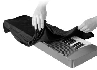 On-Stage KDA7061G Keyboard Dust Cover