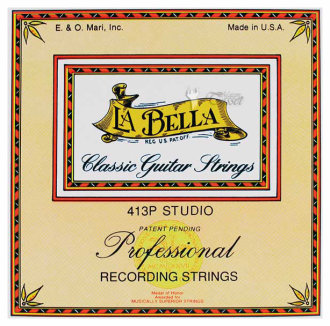 LaBella 413P Flatwound Classical Strings