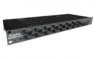 Alesis MultiMix 8 Line MML8 Mixer