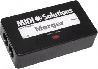 MIDI Solutions 2 Input MIDI Merger