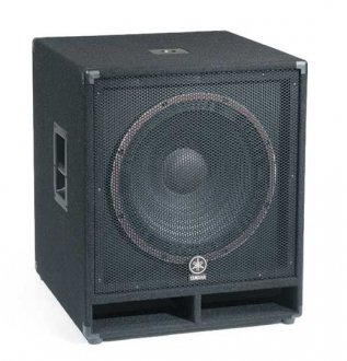 Yamaha SW118V Club V Subwoofer