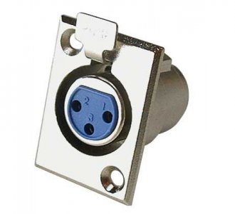 CBI XLR Female Panel Mount