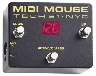 Tech21 MM1 MIDI Mouse Foot Controller