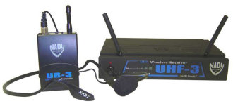 Nady UHF3 Headset Wireless System