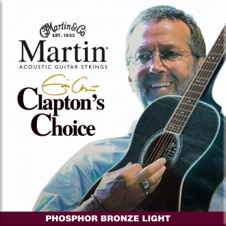 Martin Clapton's Choice Acoustic Strings