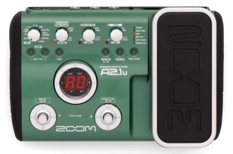 Zoom A2.1u Acoustic Multi-Effects Pedal