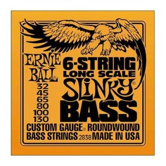 Ernie Ball 6-String Slinky Bass Strings