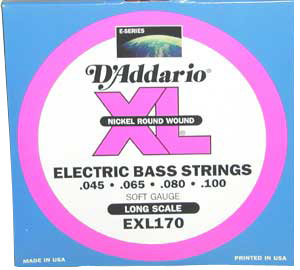 D'Addario EXL170 XL Nickel Bass Strings