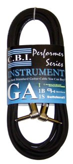 CBI GA1 Cable with Right Angle Plugs