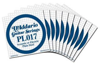 D'Addario Plain Electric Guitar String