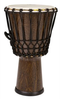 Pearl Rope Tuned Fiberglass Djembe