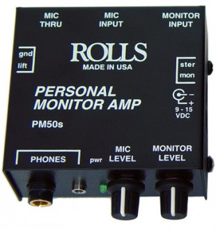 Rolls PM50s Personal Monitor System