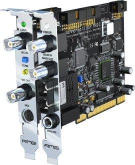 RME HDSPe MADI PCI Card Interface