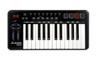Alesis QX25 USB MIDI Keyboard Controller