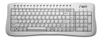 Rain Computers Computer Keyboard