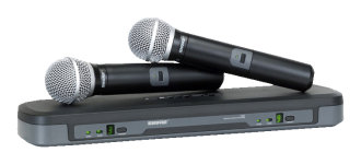 Shure PG288/PG58 Dual Vocal Wireless