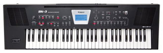Roland BK-3 Backing Keyboard, 61-Key