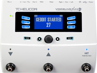 TC Helicon VoiceLive Play GTX Pedal