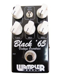 Wampler Black 65 Vintage Overdrive Pedal